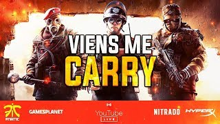 TU ME CARRY OU JE TE CARRY EN RANKED ?! RAINBOW SIX SIEGE