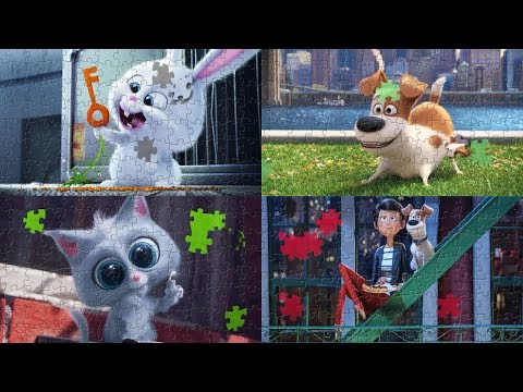The Secret Life of Pets Best Puzzles Game for Kids Compilation - Part 1