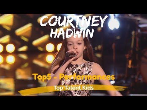 COURTNEY HADWIN 🌟 TOP 5 PERFORMANCES 🌟 AGT - VOICE KIDS
