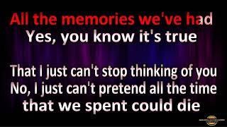 Eros Ramazzotti Tina Turner Cose della vita (Karaoke Duett)