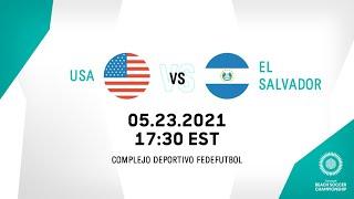 CBSC 2021   United States vs El Salvador