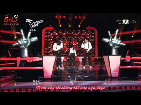[Vietsub][Voice Kids - Battle Round] Eunchung, LeeGeon, Choeun - Alone (Sistar)