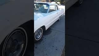 All original interior 1964 Impala SS (barn find)