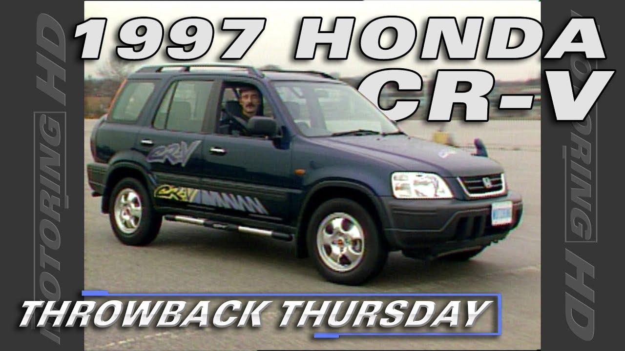 The 1997 Honda Cr V Throwback Thursday Youtube
