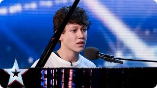 Pianist and singer Isaac melts the Judges' hearts | Britain's Got Talent 2015