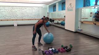 Start Your Day Express Total Body Mix Weights Plus Core Burn!
