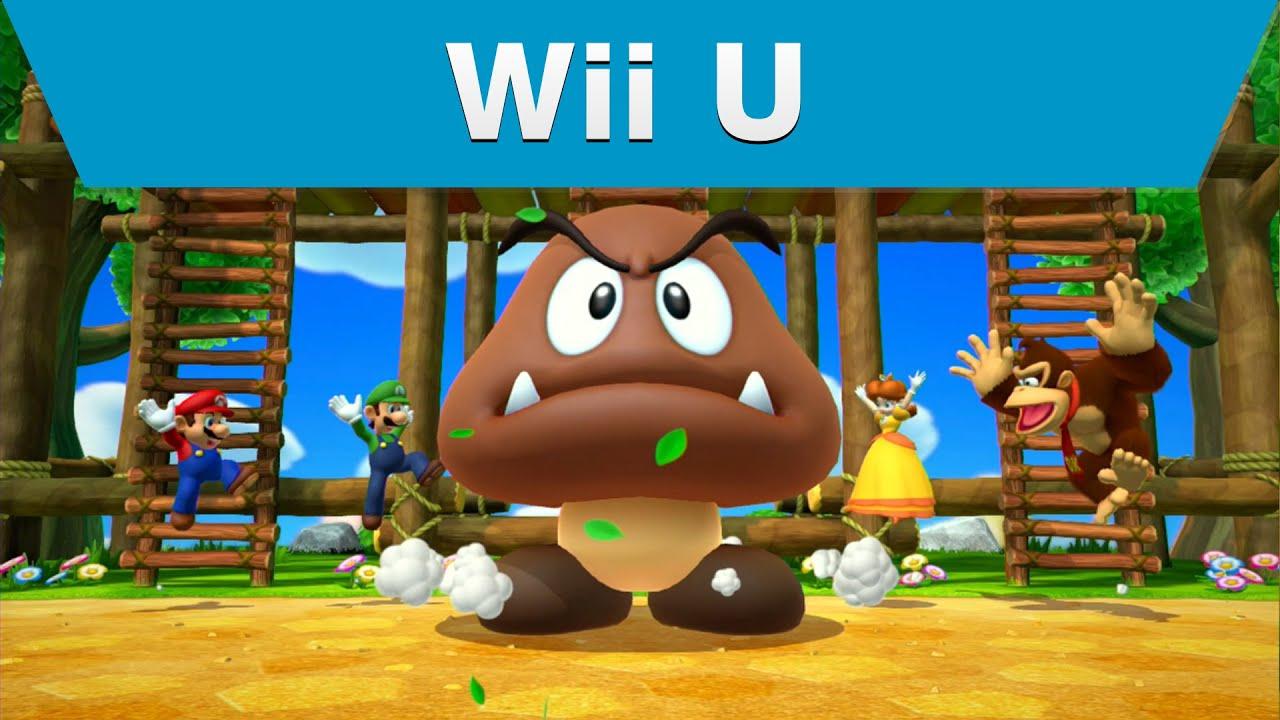 Wii U Game Trailer : Wii u mario party trailer youtube