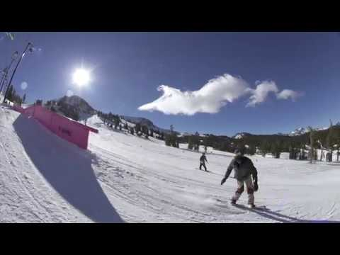 Mammoth Hot Laps Snowboard Video