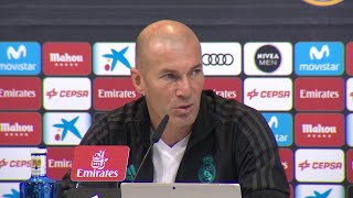 Zidane valora el rival en cuartos de Copa del Rey