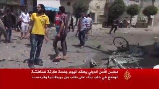 النظام يواصل قصف حلب وريف دمشق