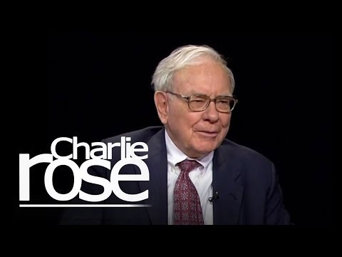 Warren buffett Talks with Charlie Rose | Charlie Rose