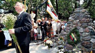 В память жертв советской оккупации