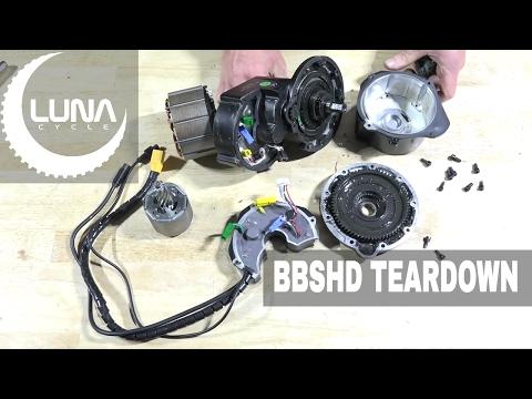 Luna Cycle Tear Down of the BBSHD - YouTube