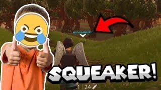 THE SQUEAK IS REAL! 😂 - Funniest Kid in Fortnite!