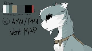 Unravel OC AMV/PMV Vent MAP (3/34 open)