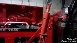 Zetor 7245  Turbo 6245, 7745  Turbo + Intercooler Ursus c360 montaż mdyfikacja