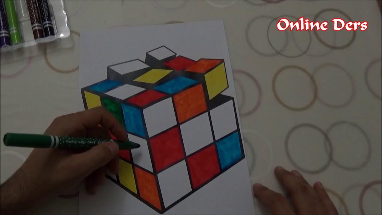 Zeka Kupu Boyama 3 Boyutlu Youtube