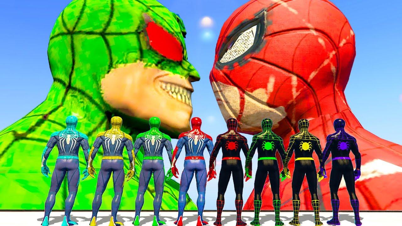 Download Spider-Verse | Team Spiderman & Injured Spider & Spider-Man Patient Zero