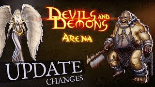 Devils And Demons - ARENA WARS official update recap