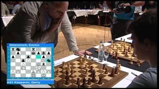 Garry Kasparov, Simultaneous Exhibition, Pula/Croatia/19.8.2015.