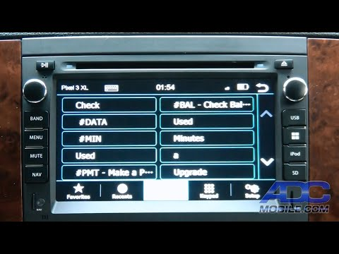Repeat Dynavin GM2007 OE Style Navi for GM - Settings by ADC Mobile