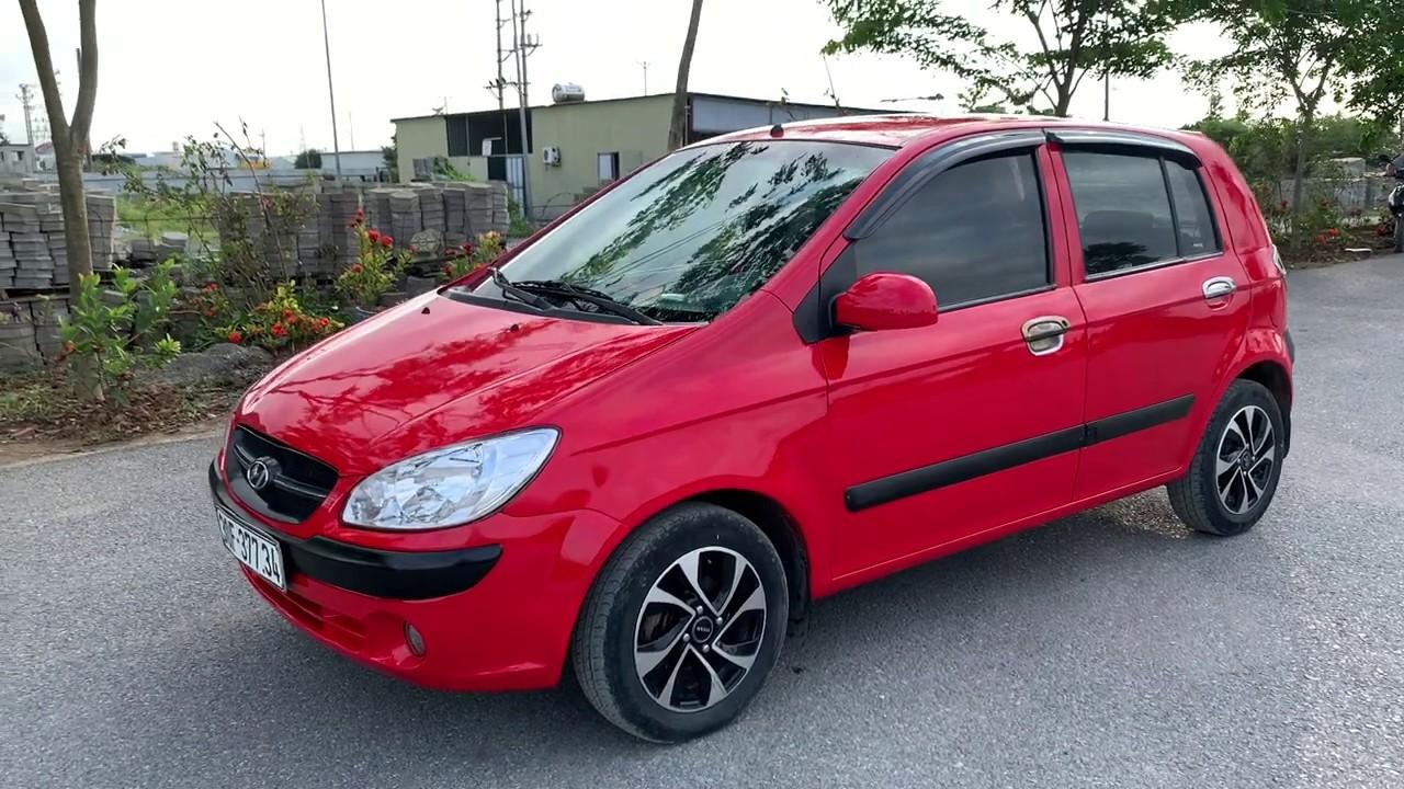 Huyndai getz 2010 nhập khẩu bản đủ xe đẹp giá yêu / Auto Nam Anh / 0967179115
