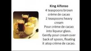 Recipes | Café Kirsch, King Alfonso, Angel's Tip, Little Daiquiri Soufflés