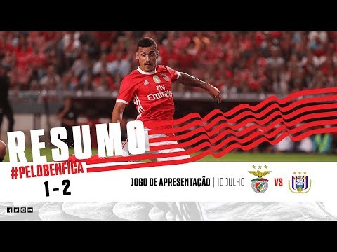 HIGHLIGHTS: SL Benfica 1-2 Anderlecht