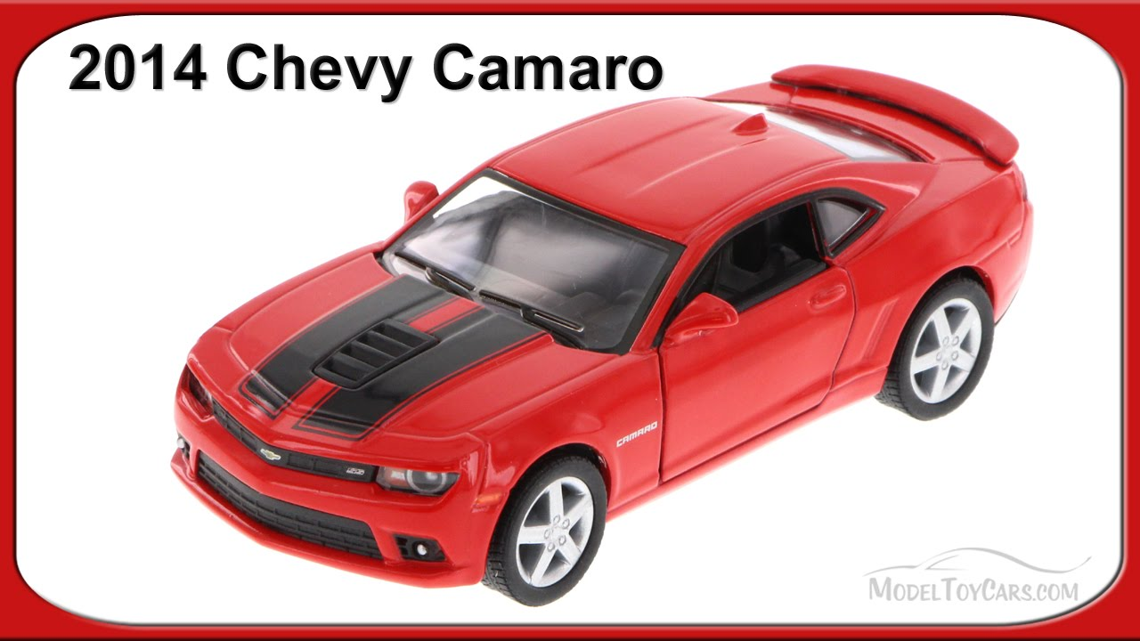 2014 Chevrolet Camaro Red Kinsmart 5383df 1 38 Scale Diecast