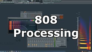 Trap 808 Processing Tutorial in FL Studio thumbnail