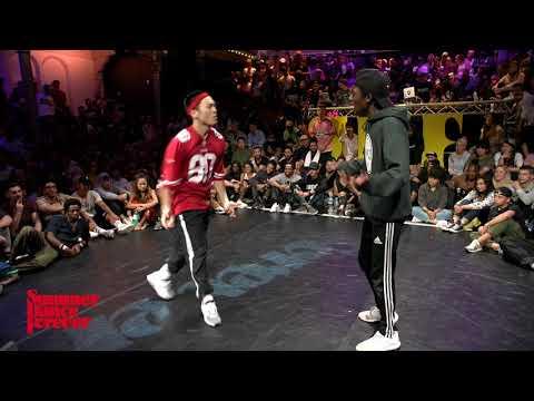 Riceball vs Gio 1st ROUND BATTLES Hiphop Forever - Summer Dance Forever 2017