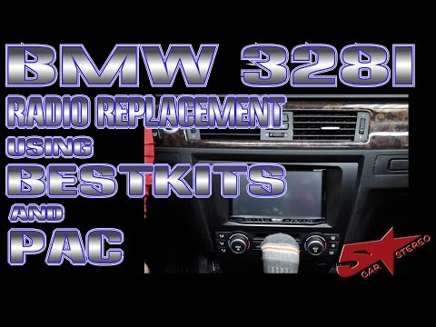 How to replace the radio in a BMW 328i - YouTubeYouTube