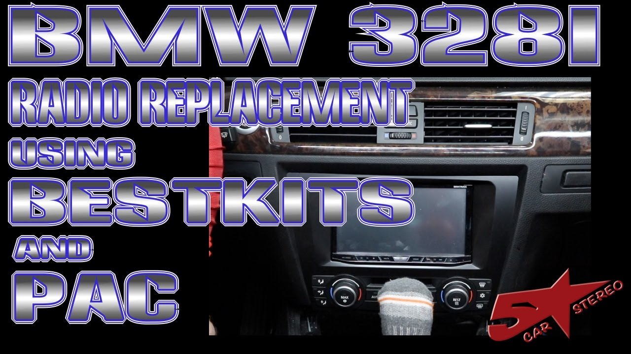 How To Replace The Radio In A Bmw 328i Youtube E90 Stereo Wiring Harness