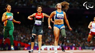 Athletics - Women\'s 100m - T42 Final - London 2012 Paralympic Games