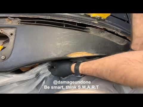 FULL VIDEO Stag Triumph Dash Repair By Damage Undone