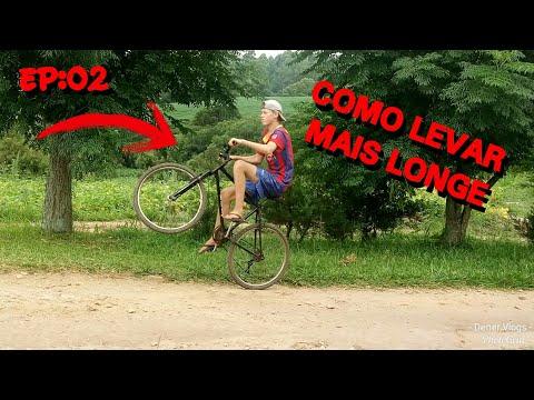 Como levar a bike longe no grau(como impinar de bike)EP:02