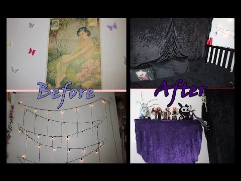 Fairy To Gothic Bedroom Diy