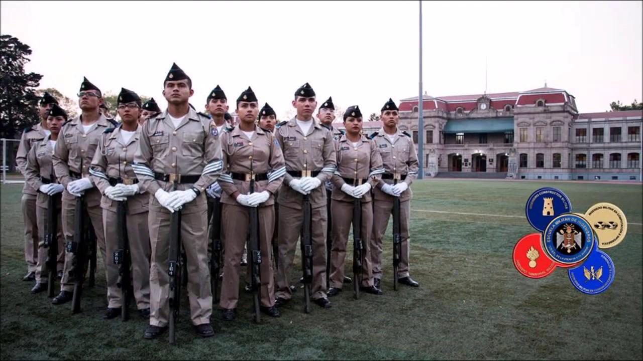Himno Escuela Militar De Ingenieros Youtube