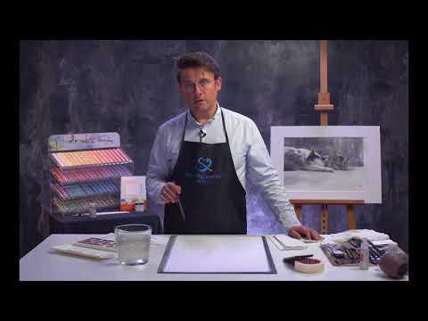 Konstantin Sterkhov's watercolour masterclass. Lesson 3