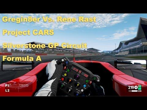 Gregin8er Vs Rene Rast - Project CARS - Silverstone GP - Formula A