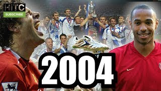 MOST POPULAR FOOTBALL MOMENTS OF 2004