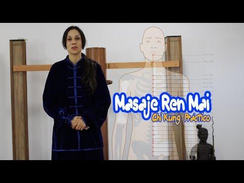Masaje Meridiano Ren Mai (Chi Kung Práctico)