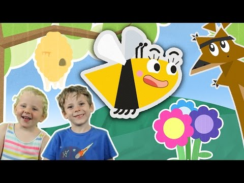 Why Do Bees Sting? | Learning Video For Kids | Toddler Fun Learning