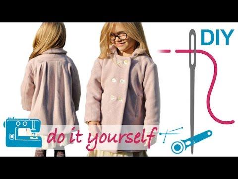 DIY Mantel bzw. Jacke mit Futter nähen für Anfänger – Zierstoff ...