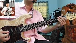Dạy ghita cổ | Vọng cổ dây đào - Câu 5 và 6 | Tấn Thành Bàu Năng