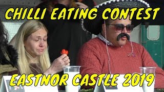 Chili Eating Contest - Eastnor Castle - Monday 6th May 2019