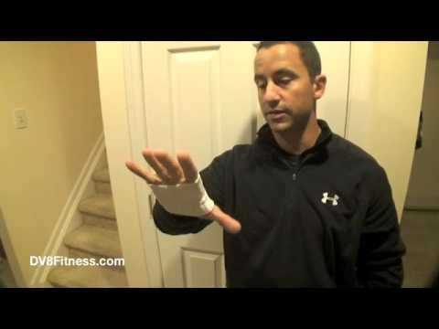 DV8Fitness - Hand Care Using The Sock
