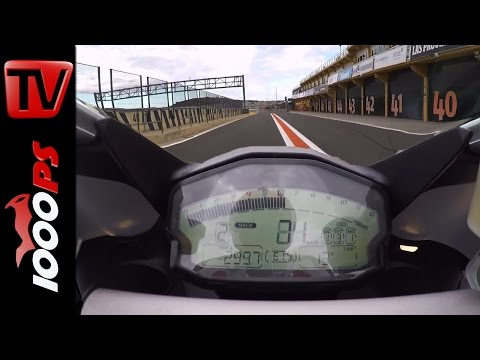 Ducati 959 Panigale Onboard Lap Valencia Circuit