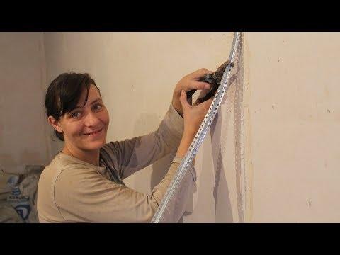 Как вытаскивать маяки после штукатурки стен