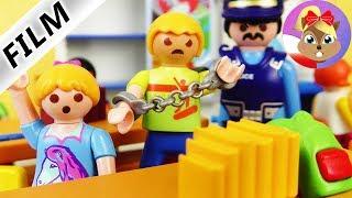 Playmobil Film polski - UCZEŃ ZATRZYMANY W KLASIE? Czy Rysiek pójdzie do więzienia? Wróblewscy